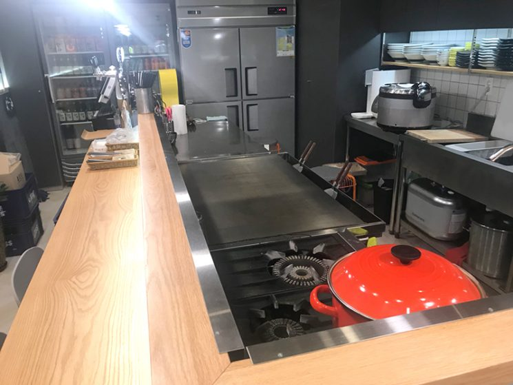 TEPPAN GRIDDLE for okonomiyaki Teppanyaki